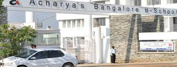 Acharya Bangalore B-SchoolTo get Admission MBA PGDM Universities