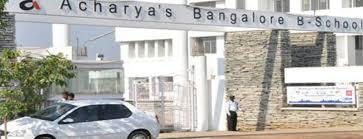 Acharya Bangalore B-SchoolTo get Admission MBA PGDM Universities